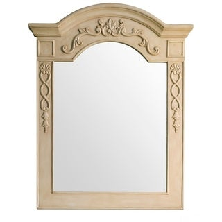 "European Traditions 32"" Mirror, Parchment - A/N"