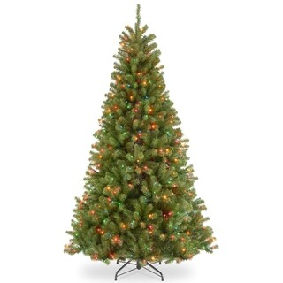 6.5 ft. North Valley Spruce Tree with Multicolor Lights