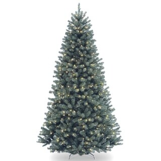 6.5 ft. North Valley Blue Spruce Tree with Clear Lights