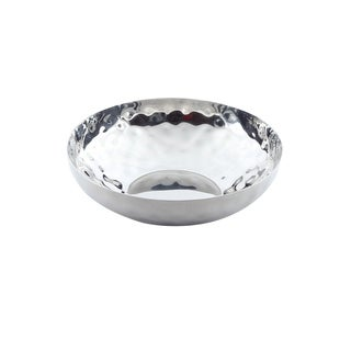 Inox 8-inch Full Polished Stainless Steel Fruit Bowl