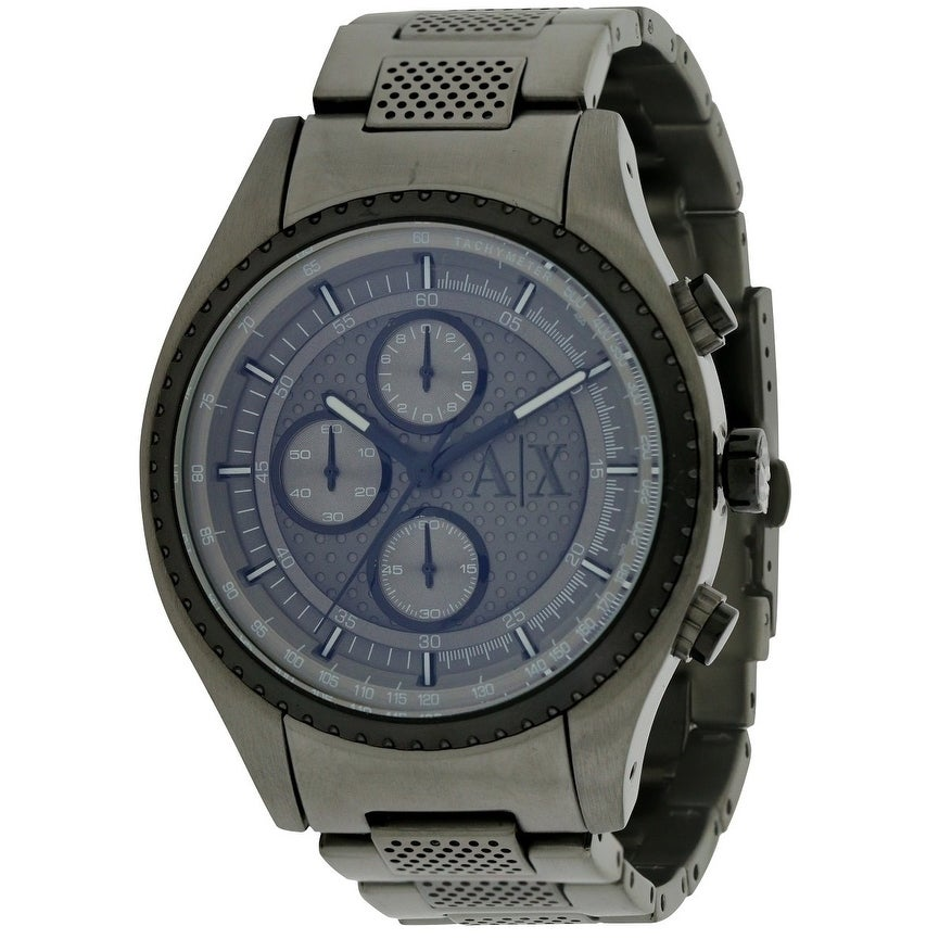 Armani Exchange Gunmetal Chronograph Mens Watch AX1606, G...