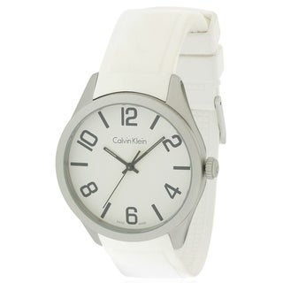 Calvin Klein Silicone Mens Watch K5E511K2