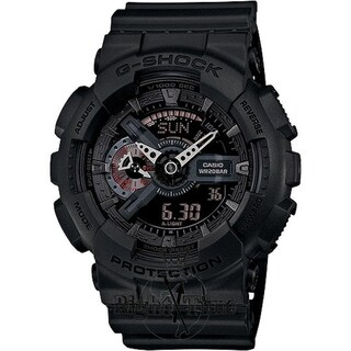 Casio G-Shock Black Ana/Digi Mens Watch GA110MB-1ACR