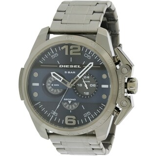 Diesel ronside Gunmetal Chrongraph Mens Watch