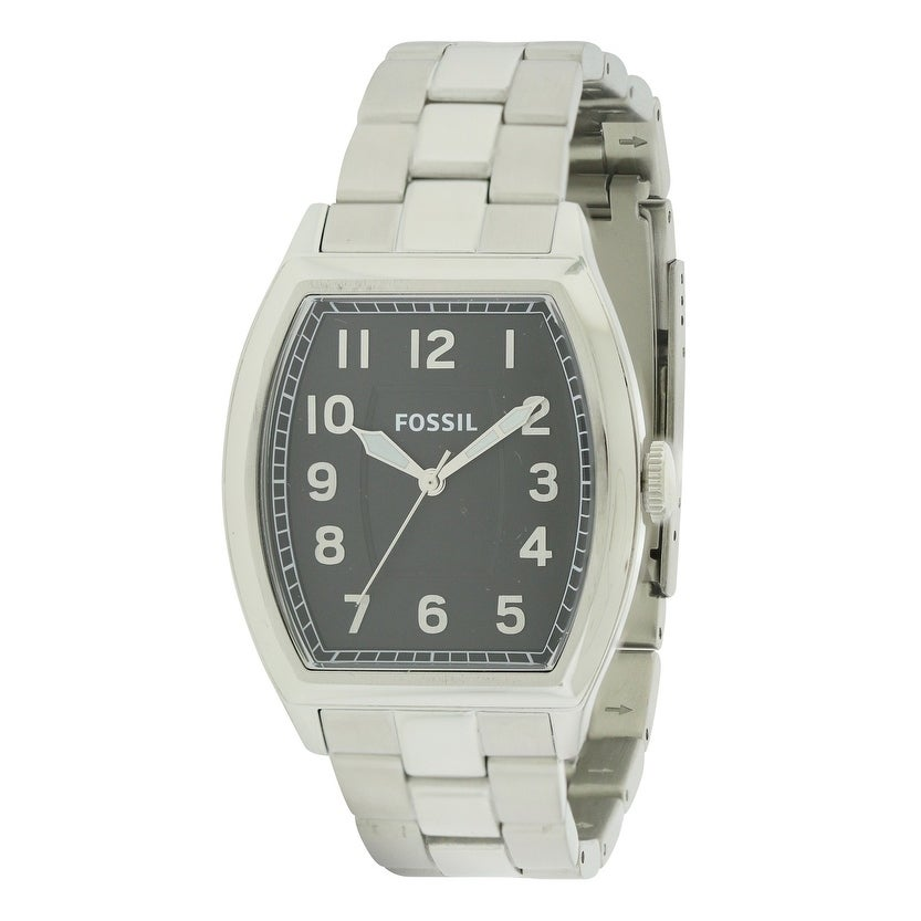 Fossil Narrator Stainless Steel Mens Watch FS4881, Black,...