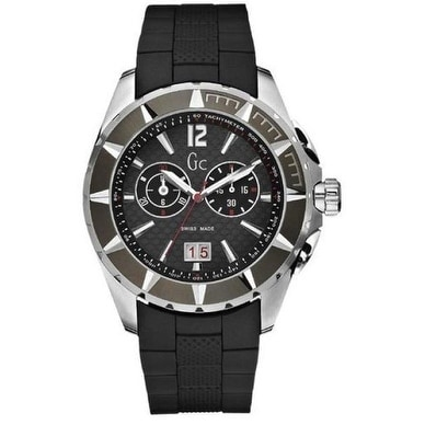 Guess Collection GC Watch Mens G35006G1, Black, Size One ...