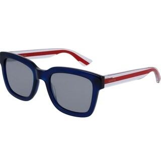 Gucci Havana Blue Mens Sunglasses -
