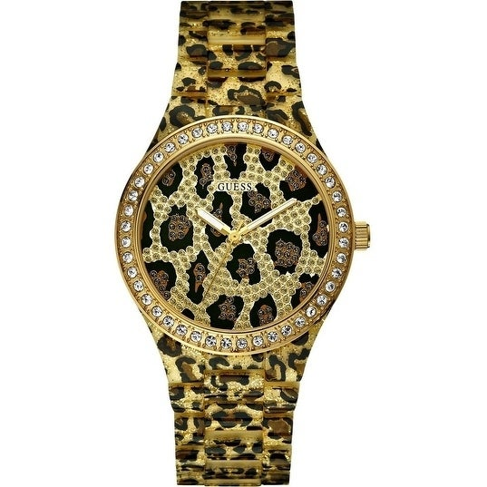 Guess Seductive Ladies Watch W0015L2, Clear, Size One Siz...