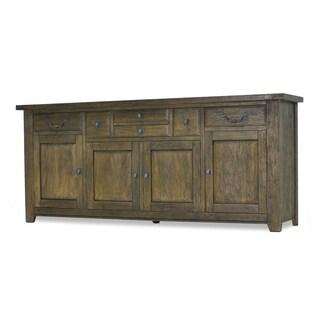 Mango Creek 4-door 6-drawer Mango Wood Sideboard