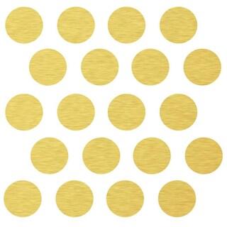 Gold Polka Dot Decals