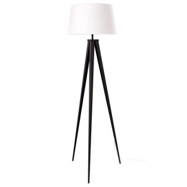 Shop Euro Style Collection Berlin 60 Tripod Floor Lamp Black