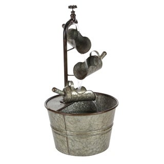 Studio 350 Metal Fountain 15 inches wide, 28 inches high