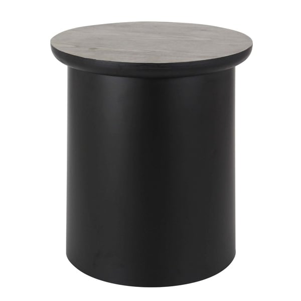 Studio 350 Metal Wood Storage Table 17 inches wide, 20 inches high