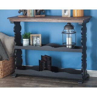 Studio 350 Wood Brown, Black Console Table