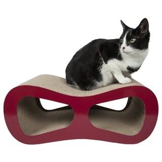 Pet Life Modiche Ultra Premium Modern Designer Lounger Cat Scratcher (3 options available)