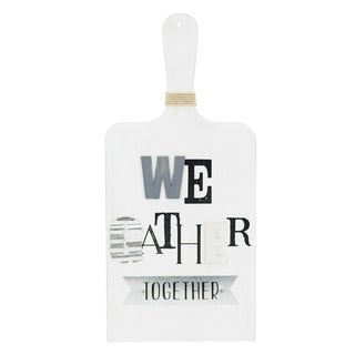 We Gather Together Wall Décor Sentiment Paddle - N/A