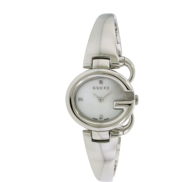 2f8a4aeb4c3 Shop GUCCI Guccissima Fashion Bangle Ladies Watch - Free Shipping Today -  Overstock - 17284464