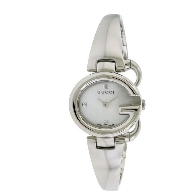 Gucci ssima Fashion Bangle Ladies Watch YA134504, Mother ...