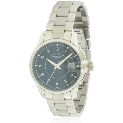 Hamilton Rail Road Stainless Steel Automatic Mens Watch H40415135