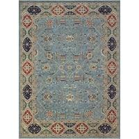 Noori Rug Yousafi Hashem Blue/Ivory Rug - 8'10 x 11'10