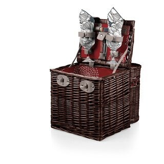 PICNIC TIME® 'Vino' Wine & Cheese Basket, (Harmony Collection)