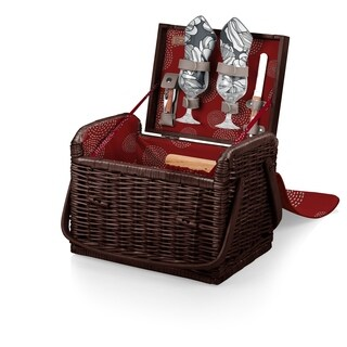 PICNIC TIME® 'Kabrio' Wine & Cheese Basket, (Harmony Collection)