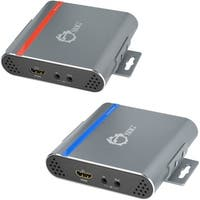 SIIG HDMI 4K HDBaseT Extender Over Single Cat5e/6 Cable with IR Contr