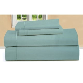 1000 Thread Count Cotton Sateen Solid Color Sheet Set