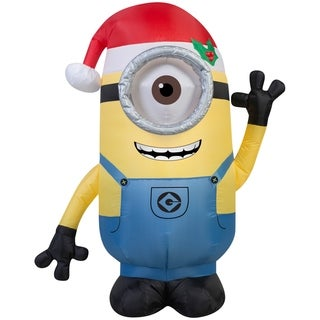 Christmas Airblown Inflatable Minion Stuart