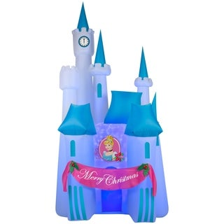 Christmas Airblown Inflatable Projection Kaleidoscope of Cinderella's Disney Castle Scene