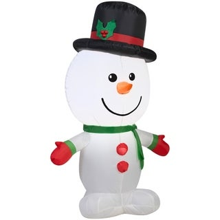 Christmas Airblown Inflatable Outdoor Snowman