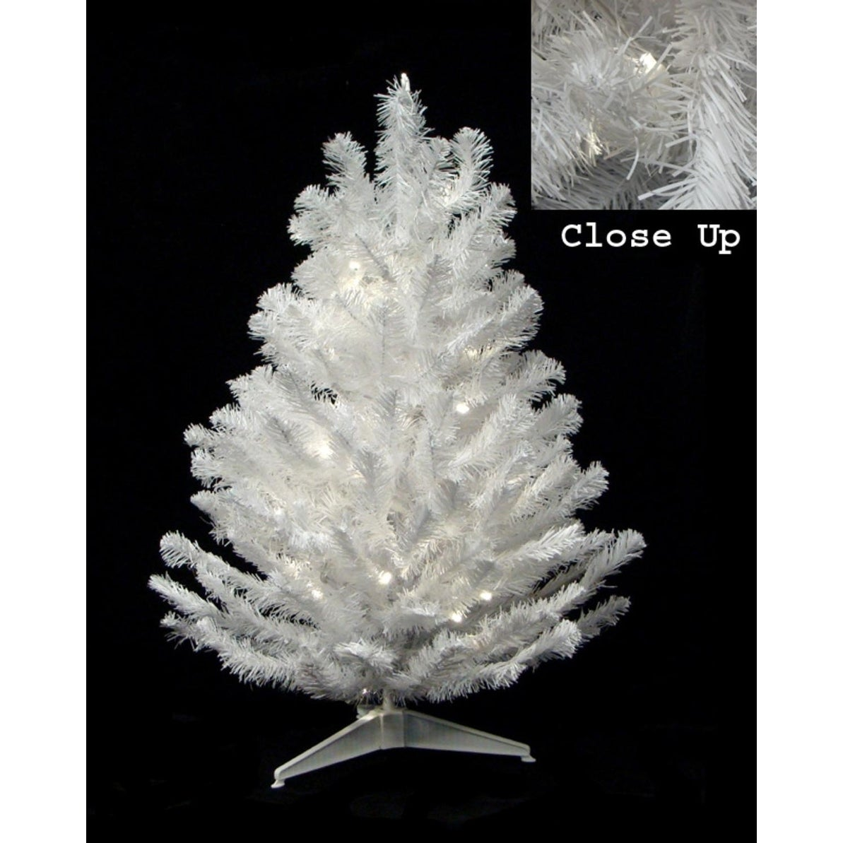 "DARICE 18"" x 11"" Pre-Lit Snow White Artificial Christmas ..."