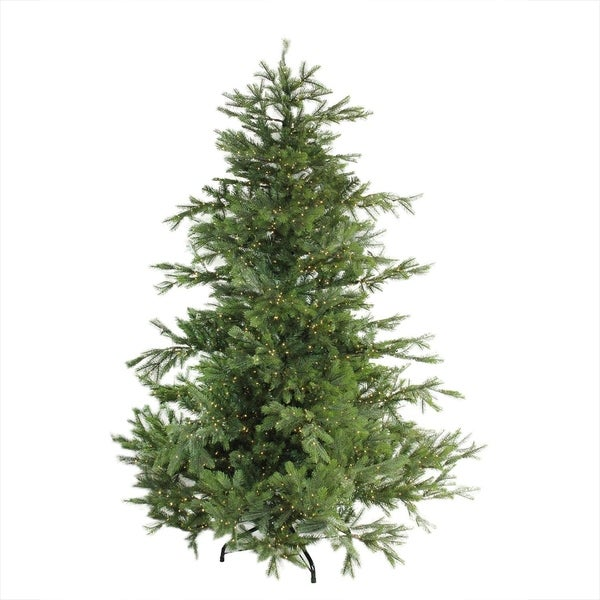 "12 Ft Pre Lit Christmas Tree Costco: Shop 6.5' X 60"" Pre-Lit Oregon Noble Fir Artificial"