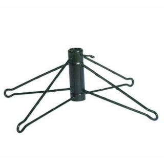 Green Metal Artificial Christmas Tree Stand for 10' Trees