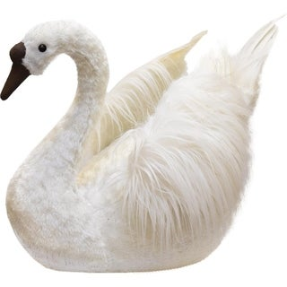 "19.25"" Winter's Beauty Sparkling White Swan Christmas Decoration"