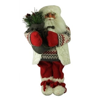 "12"" Nordic Santa Claus Christmas Table Top Figure"