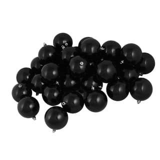 buy black christmas ornaments online at overstock com our best