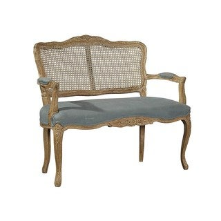 Peignot Settee with Cushioned Seat