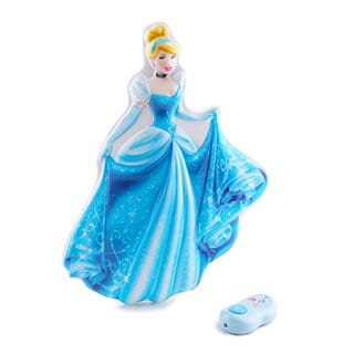 Disney Princess Cinderella Interactive Wall Character Lights Up & Talks Wall Friends