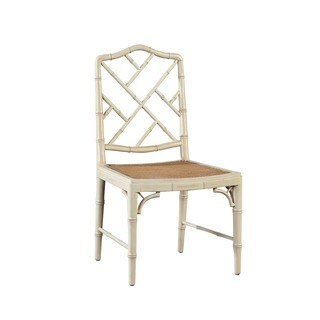 Chinoise Chippendale Bamboo Side Chair (Set of 2)