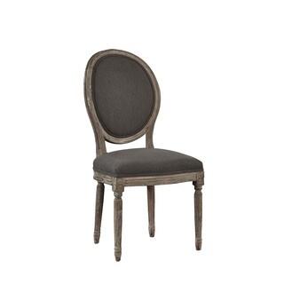 Madonna Hand-Carved Solid Oak Side Chair (Set of 2)