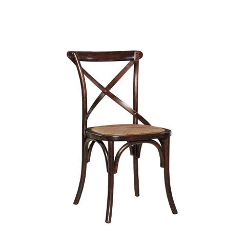 Parisian Side Chair with Steam-bent Wood (Set of 2)