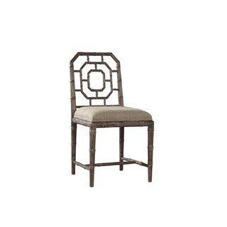 Milne Chippendale Bamboo Side Chair (Set of 2)