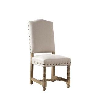 Bekka Brass-Trimmed Side Chair (Set of 2)