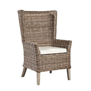 Coquina Handwoven Rattan Host Chair (Set of 2)
