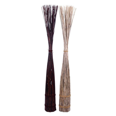 Studio 350 Dried Floral Set of 2, 78 inches high, 14 inches wide