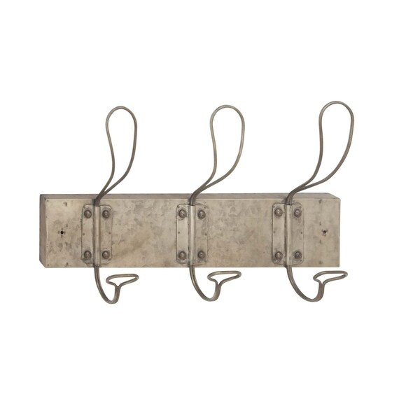 Studio 350 Metal Wall Hook 18 inches wide, 11 inches high