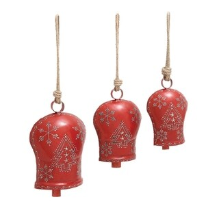 Studio 350 Metal Bell Set of 3, 20 inches, 16 inches, 15 inches high