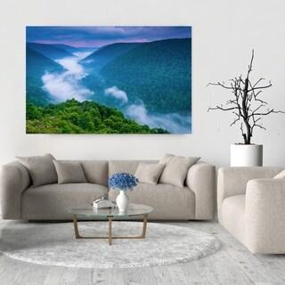 Noir Gallery Blackwater Canyon Sunset in West Virginia Fine Art Photo Print