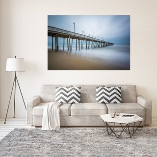 Noir Gallery Fishing Pier in Virginia Beach Fine Art Photo Print (4 options available)
